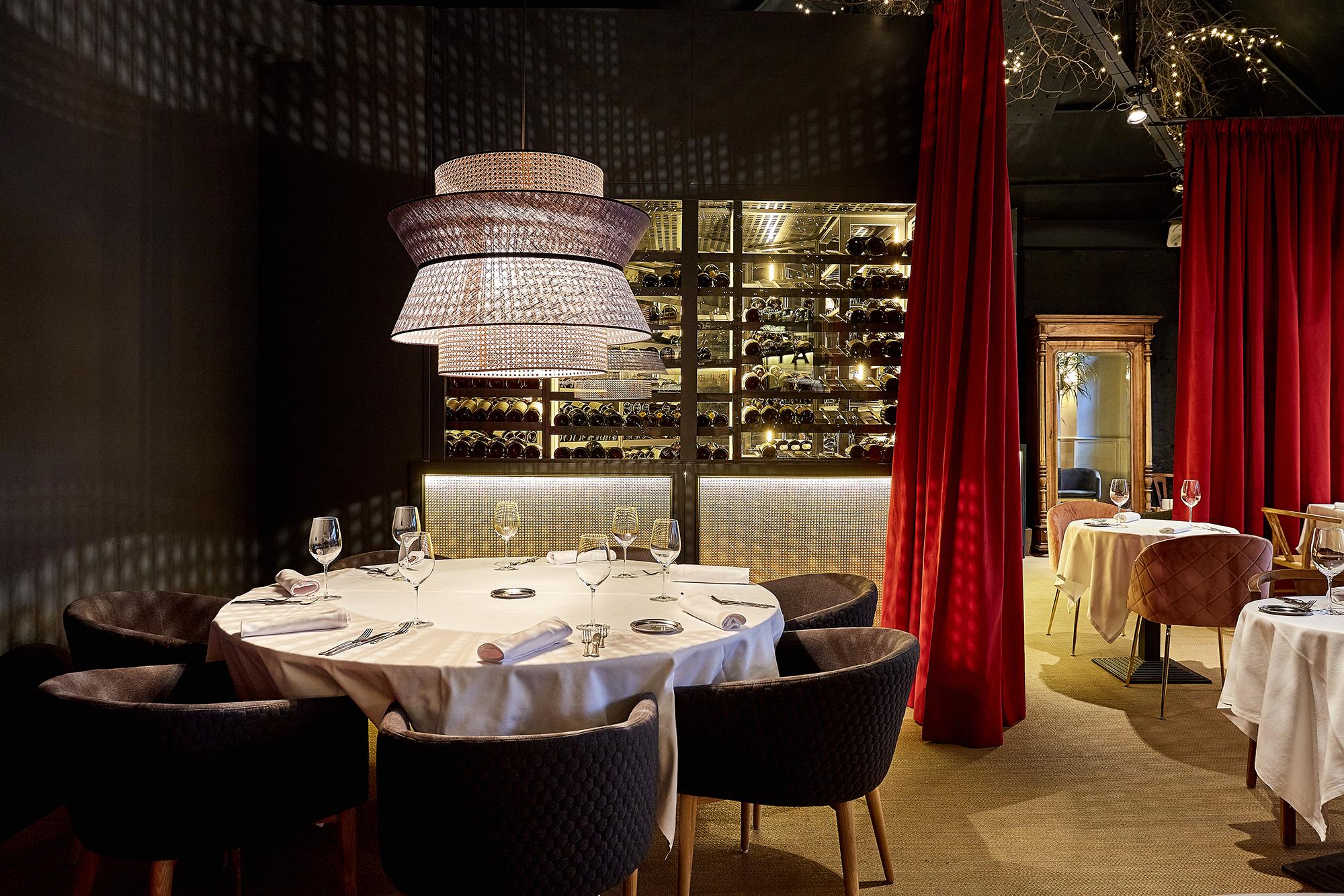 Bodega Climatizada en Restaurante, Madrid